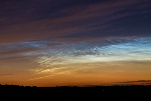 Noctilucent Cloud 2:19am BST 06/07/16