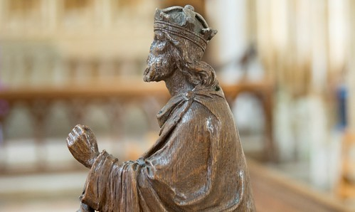 King Athelstan carving