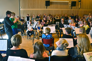 Jonatan Jennesjö och Malin Arup i solisttävlingen