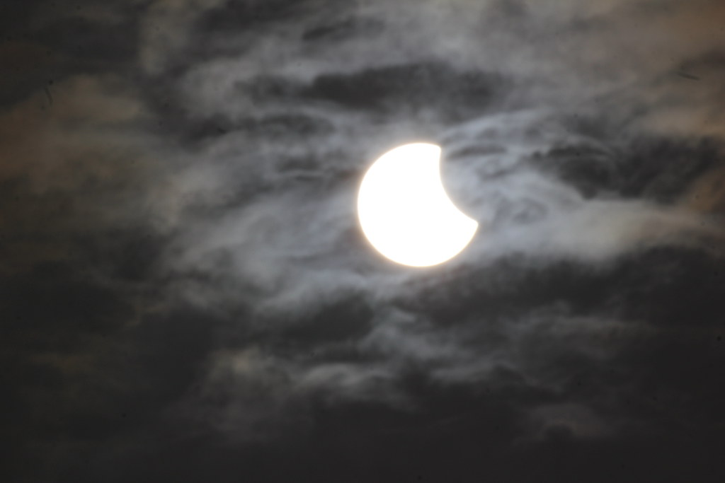 Sun Eclipse at Exeter 20th March 2015