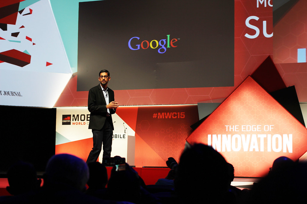 Sundar Pichai - SVP, Android, Chrome and Apps, Google | Flickr