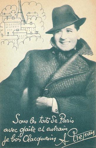 Albert Préjean for Clacquesin