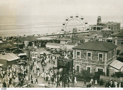 Semaphore foreshore. - Photograph courtesy of the State Library of South Australia