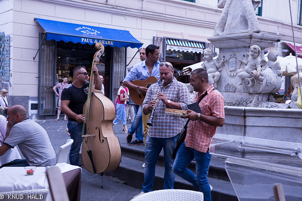 Musicians in Amalfi