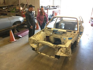 Prepping for sandblasting.   by peter*g
