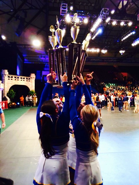 Congratulations Hofstra Cheer for winning its 9th College National title!