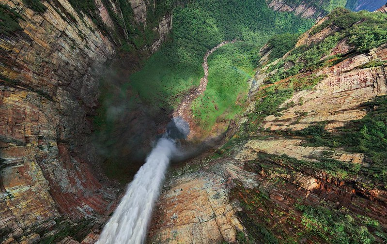 Angel Falls, Venezuela [970x612] [Unknown Photographer]