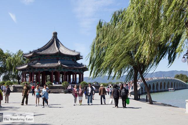 17 Arches Bridge at Summer Palace, Beijing, China