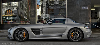Mercedes-Benz SLS AMG Black Seies | by kurzew