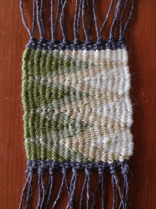 Wedge Weave Sample