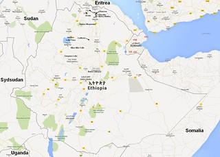 Etiopien Kort Michael Kragh Flickr