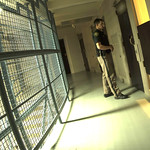 January 13, 2016 - 01:34 - A deputy conducts one of many walk throughs during the night shift to make sure inmates are well. Credit: Specialist Stephen Willder , Jefferson County (Colorado) Sheriff's Office