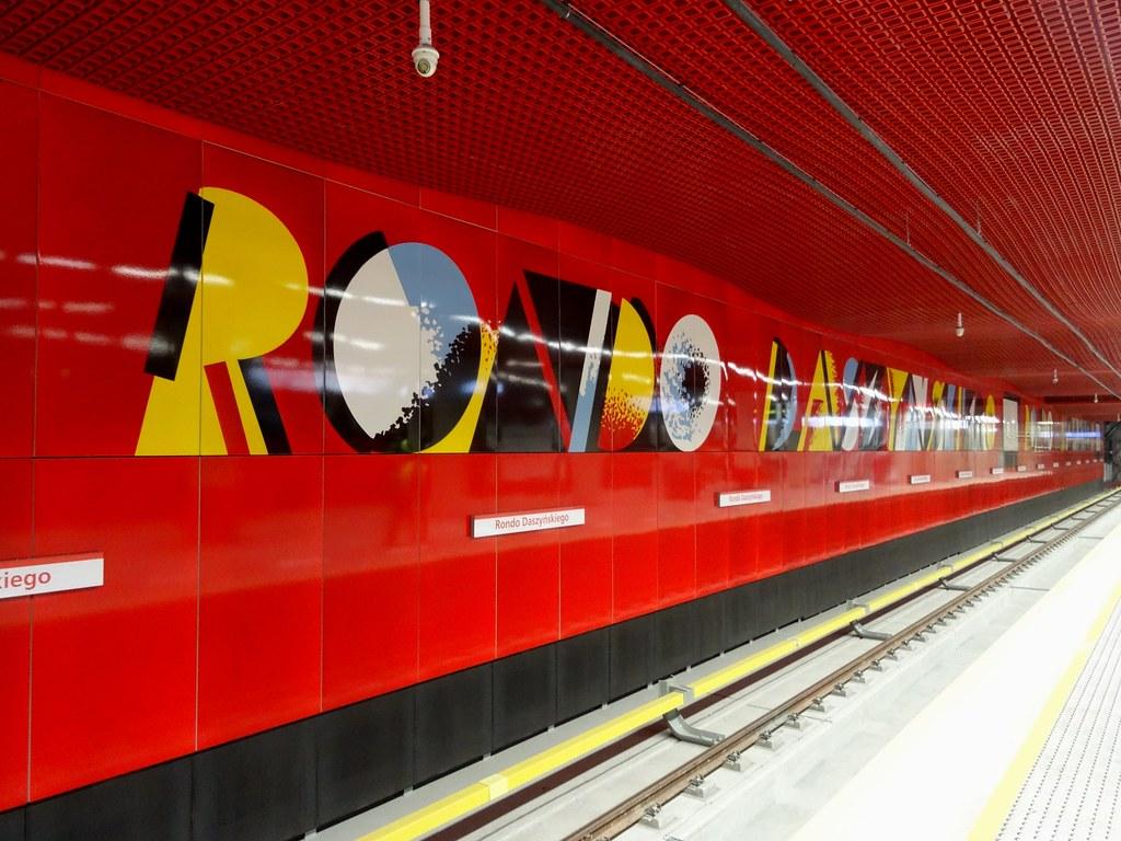 Warszawa - Metro - Rondo Daszyńskiego