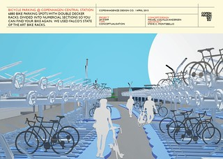 Copenhagenize Design Co. - Bike Parking at Central Station | by Mikael Colville-Andersen
