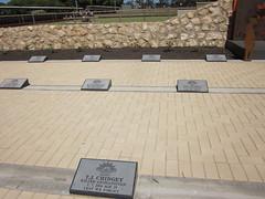Two Wells Memorial plaques
