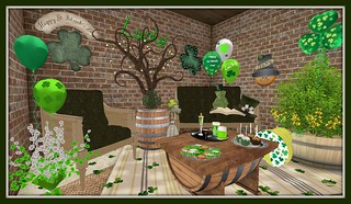 St. Patrick's Day 2015 | by Hidden Gems in Second Life (Interior Designer)