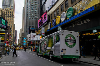 Heineken's Truck in Manhattan | by tom ueda