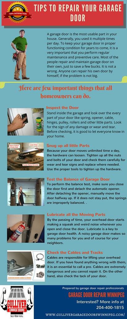 Tips To Repair Your Garage Door Remember You Overhead Doo Flickr