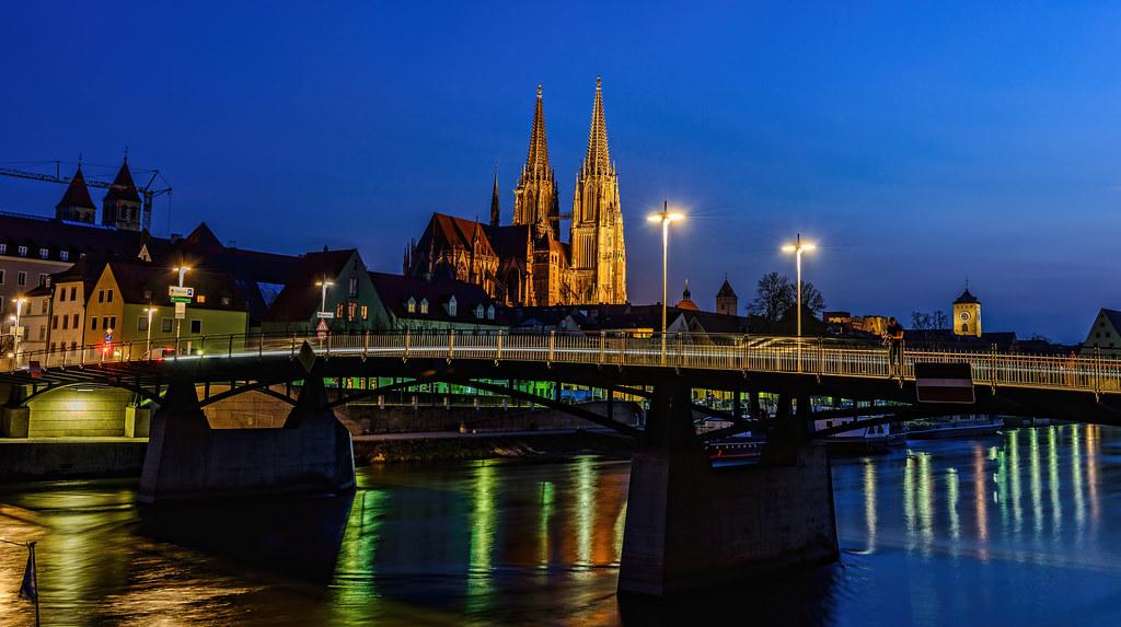 Eiserne Brücke Regensburg