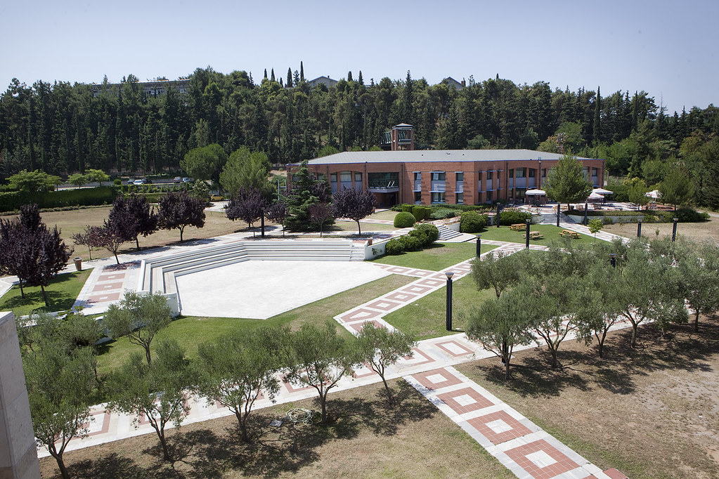 Panoramic view of the campus   American College of