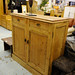 Pitch pine reclaimed side unit