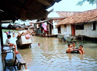 Floods, Jakarta, Kapuk Muara.....