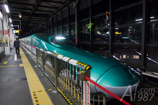 Hayabusa Shinkansen | by AT1987