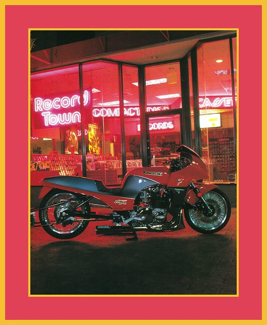 '84 Kawasaki Ninja Show Bike, 1990