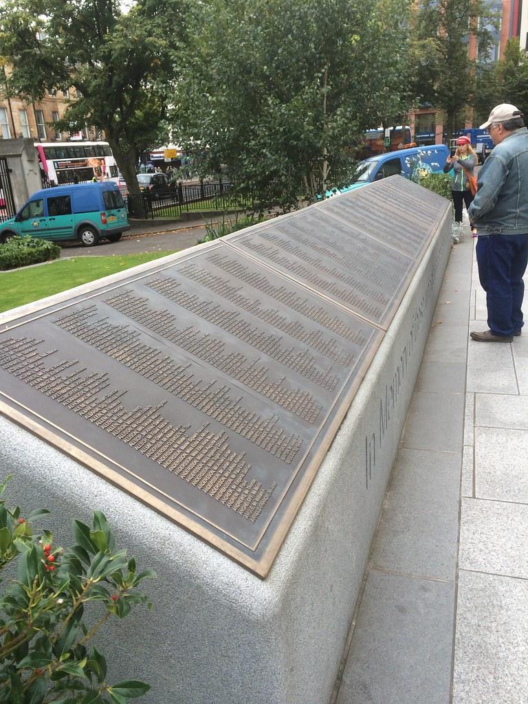 Titanic Memorial in Belfast
