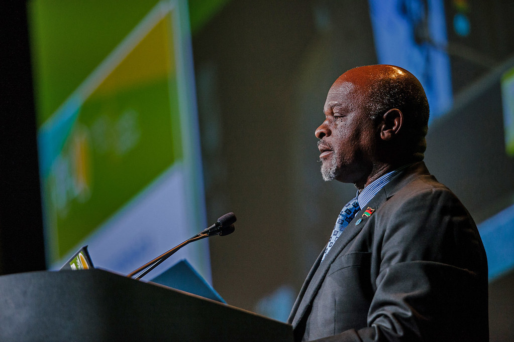 Allan Chiyembekeza, Minister of Agriculture, Malawi | Flickr