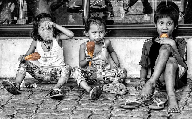 Chocolate Ice Cream Cone Kids