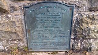 Plaque at Talybont Reservoir   by pluralzed