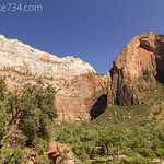 Great White Throne and Red Arch Mountain