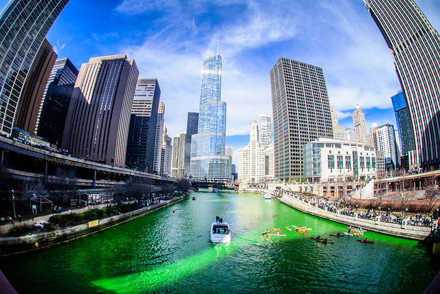 The Main Reason Why - Greening of the Chicago River, 2015 edition