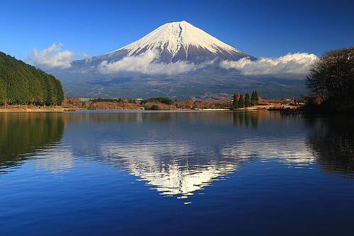 lake japan volcano fuji tanuki shizuoka 富士山 volcan fujinomiya 静岡県 田貫湖 富士宮市