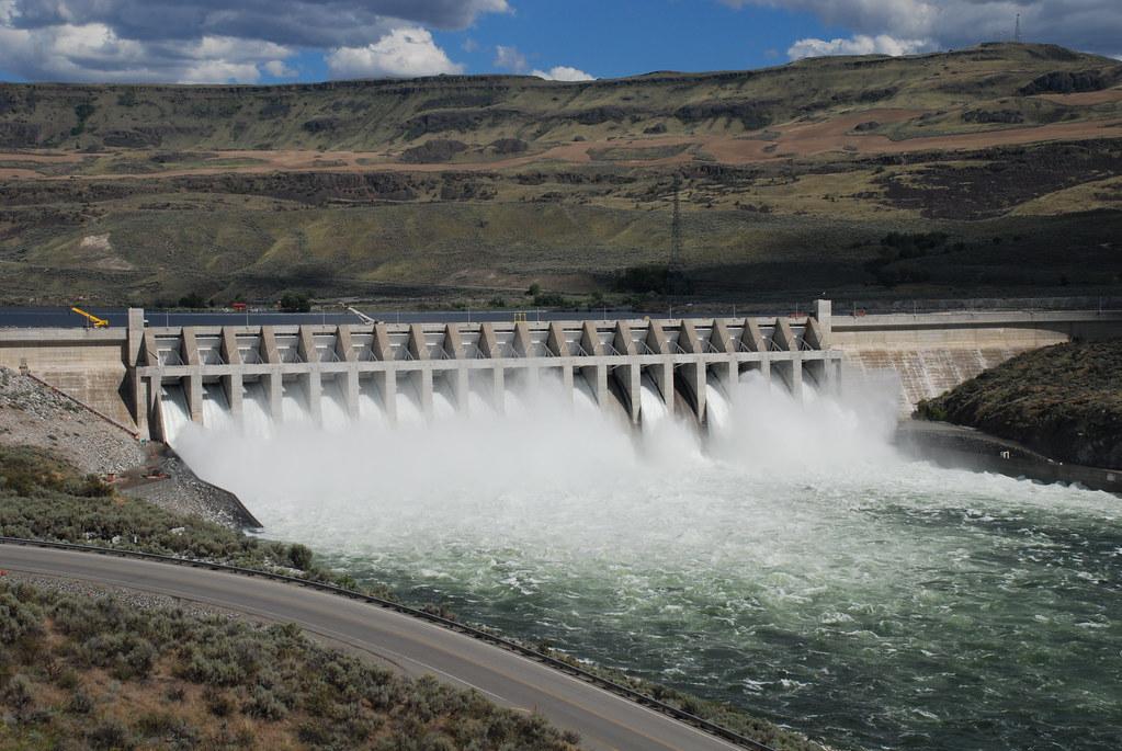 Chief Joseph Dam Spillway