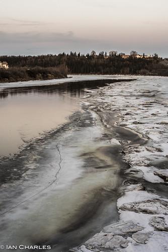 river spring nikon edmonton alberta d750 thaw northsaskatchewan