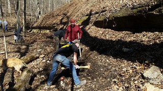Rock Hollow Trail Building Day - Sat. March 28th