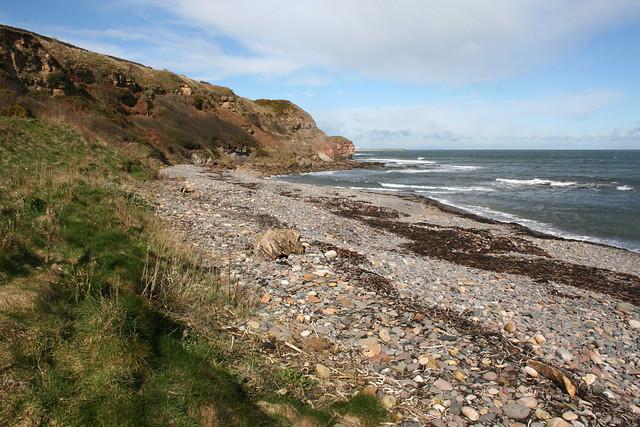 Beach near Dunglass