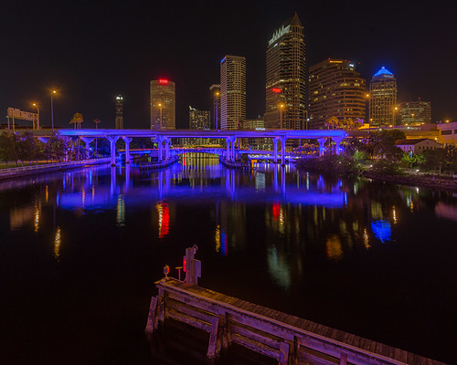 reflection skyline tampa effects florida beercan processing nik hdr hillsboroughriver sykesbuilding plattstreetbridge rivergatebuilding