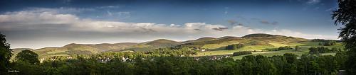 summer panorama festival scotland hills peebles borders beltane scottishborders beltanewednesday