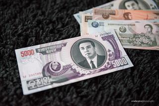 North Korean Won 5000   by reubenteo