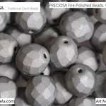 PRECIOSA Fire-Polished Beads - 151 19 001 - 00030/27250