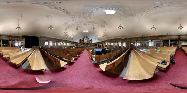 360 view of the Tabernacle at Temple Square