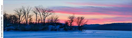 blue winter sunset red panorama snow ice burlington bay nikon hamilton gimp opensource rbg royalbotanicalgardens niagaraescarpment hugin snowmobiletrails cootesparadise skitrails princesspoint sydenhamroad nikkor70300mmvr d7100 rawtherapee cockpitisland