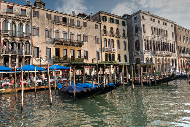 Buildings along Grand Canal