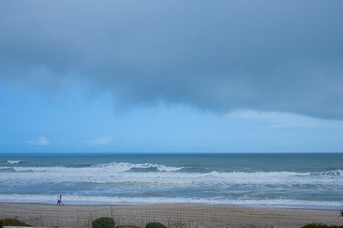 ocean cloud storm beach surf florida ominous indialantic