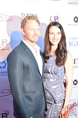 Ian Ziering & Erin Ludwig at the 4th Annual Norma Jean Gala - DSC_0202