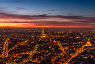 Sunset Over Paris | by IRRphotography