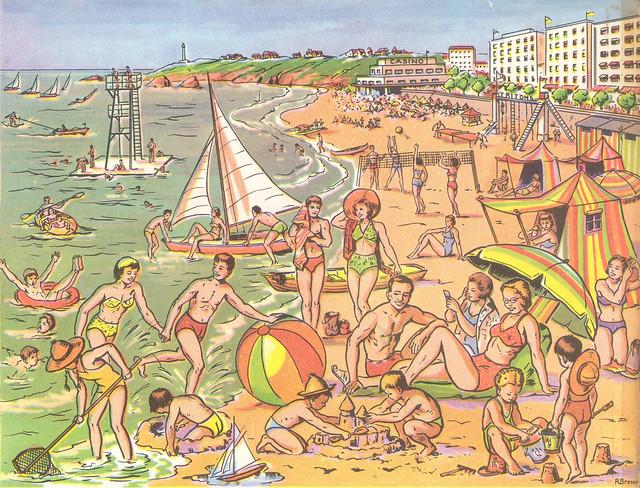 31 a la plage